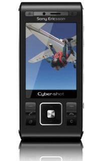Sony Ericsson C905: de frente, fechado