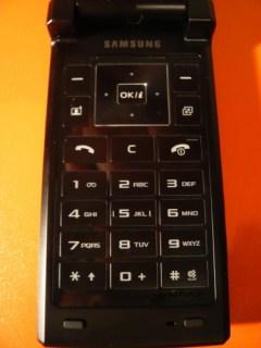 V820L: detalhe do teclado