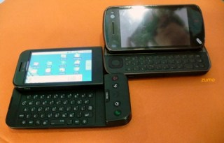 HTC Android G1 e N97 abertos