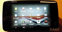Menu de aplicativos do N900
