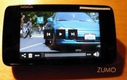 Media Player do N900: AVI (DivX) de 350 MB rodando sem engasgo em tela cheia