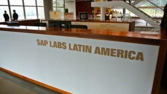 A recepção do SAP Labs Latin America