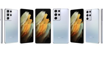 Samsung Galaxy S21 Ultra (crédito: Evan Blass/Voice)