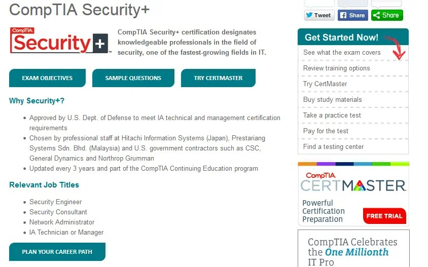 What Security Plus Certification