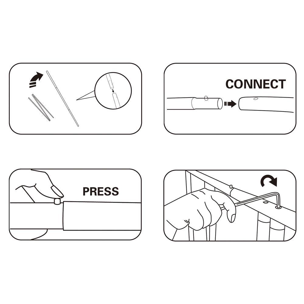 Zipper-Display