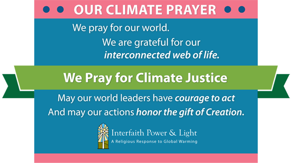 Climate Prayers And Sample Sermons