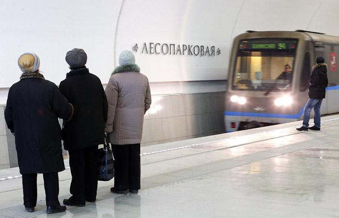 Две линии московского метро оборудуют табло отсчета времени до прибытия поезда