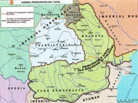 Imagini pentru harta romaniei 1856-1878