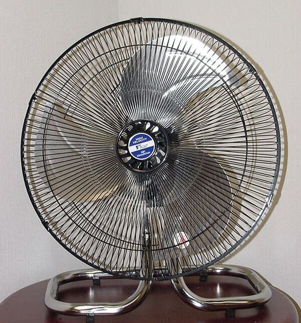 I thank thee for the fan.