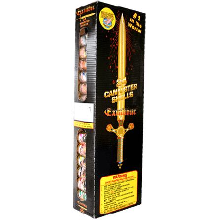 Excalibur  Intergalactic Fireworks