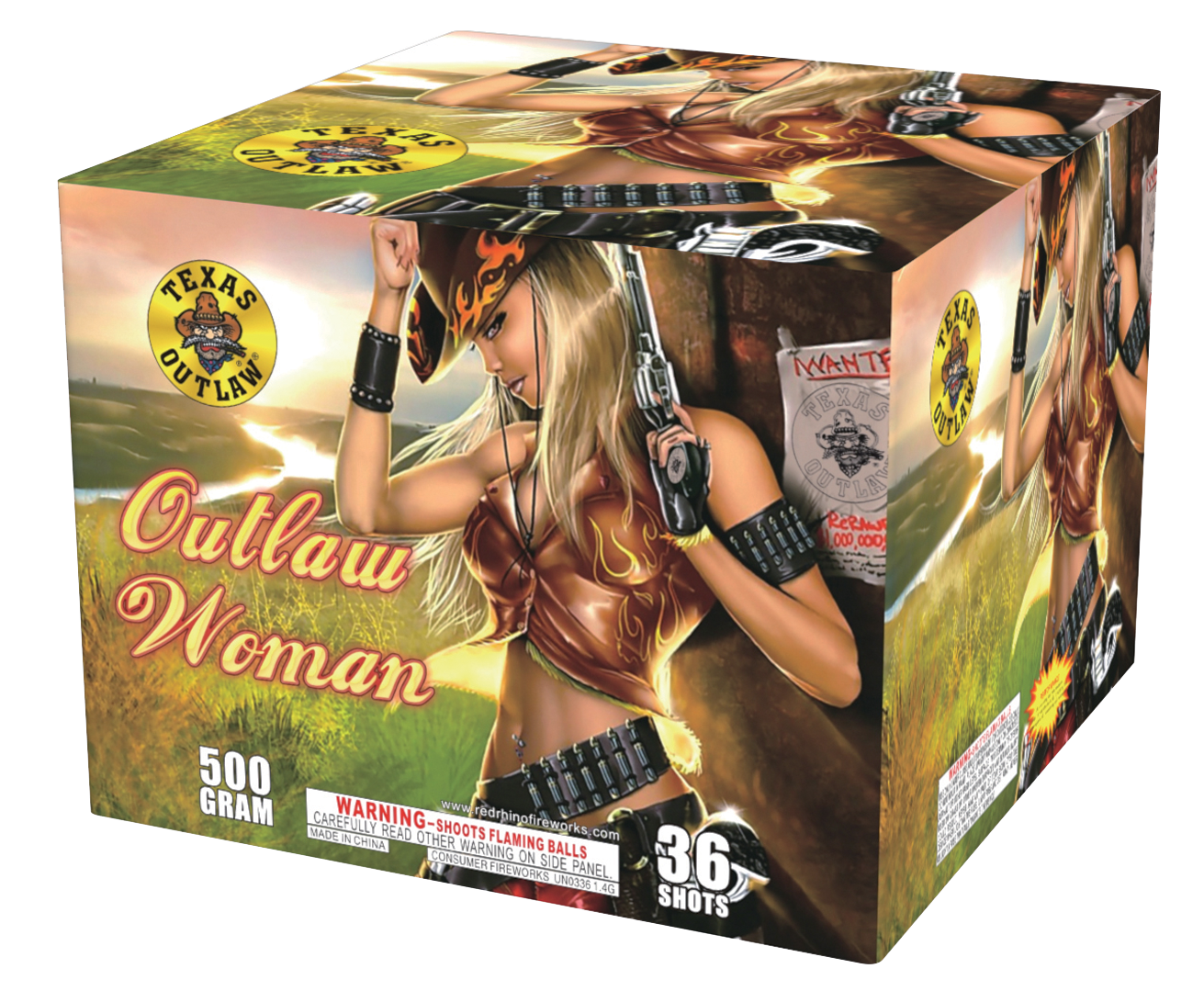 Outlaw Woman  Intergalactic Fireworks