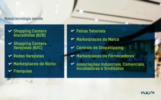 plataforma de e-commerce B2B da flexy antende diversos segmentos