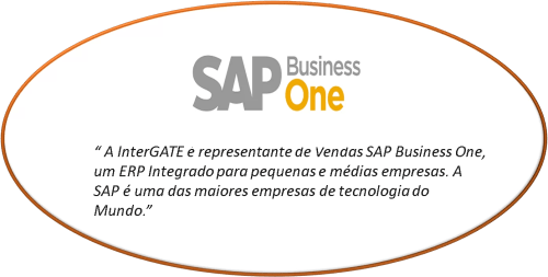A Intergate é representante de vendas SAP Business One