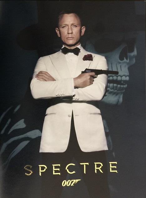 「007/SPECTRE」パンフレット