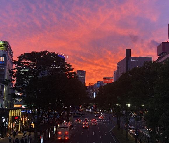 夕日がきれい 2020.9.29