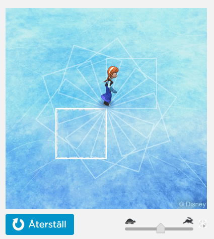 Play the Frozen game while learning to code