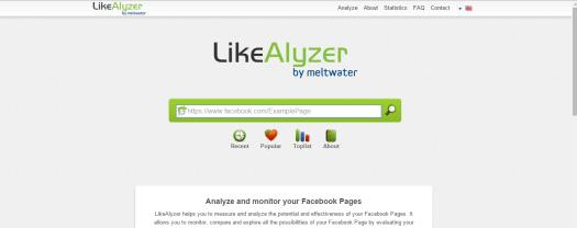 likealyzer social media analytics facebook