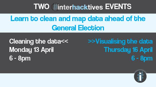 Promotional image for the Interhacktives events