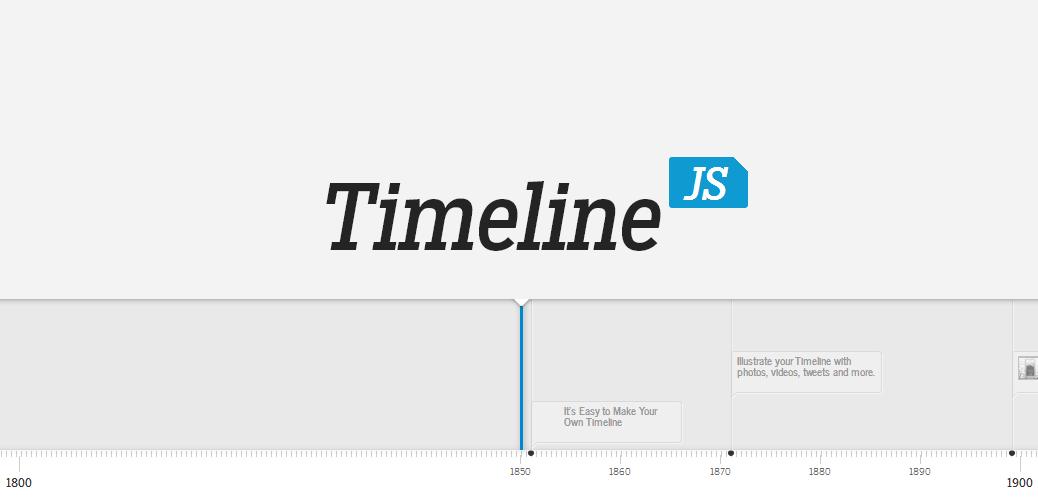 Resultado de imagem para Timeline JS
