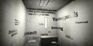 VR journalism guardian solitary confinement