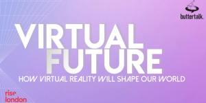 Virtual Reality talk visual
