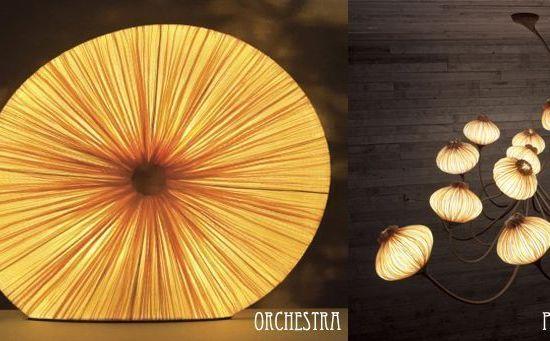 Iluminación de diseño. Lámparas de diseño