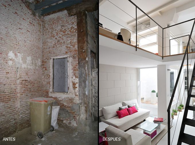 La espectacular transformacin de un stano en un loft Interiaes