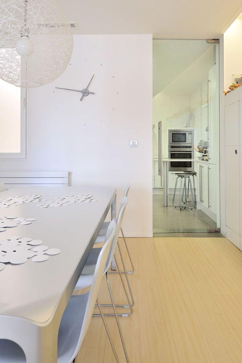 Decoración piso con luz natural