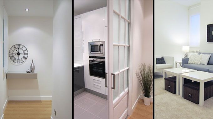 Ejemplo de reforma de un piso interior para alquilar - Reforma piso antiguo antes despues ...