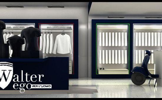 Diseño tienda de ropa