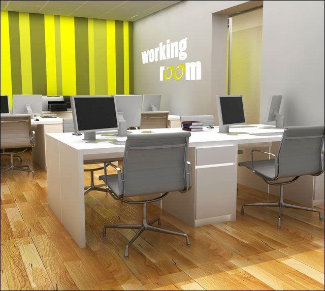 Proyecto de decoraci n de oficina en chamber for Decoracion oficina