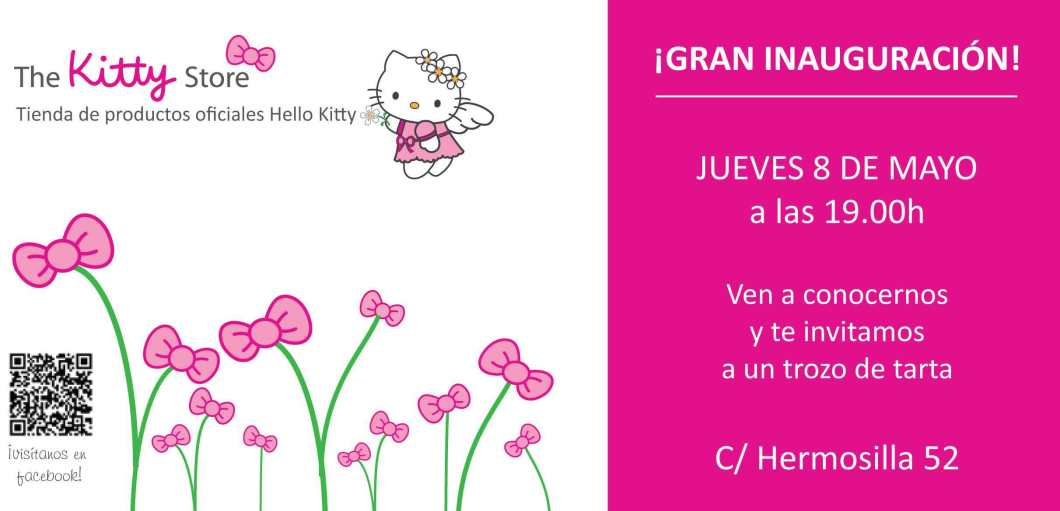 diseño grafico flyer the kitty store