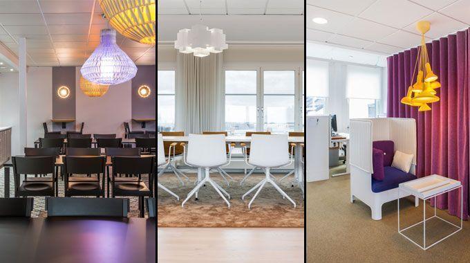 Proyecto de diseño interior de oficinas: la sede de HSB en ...