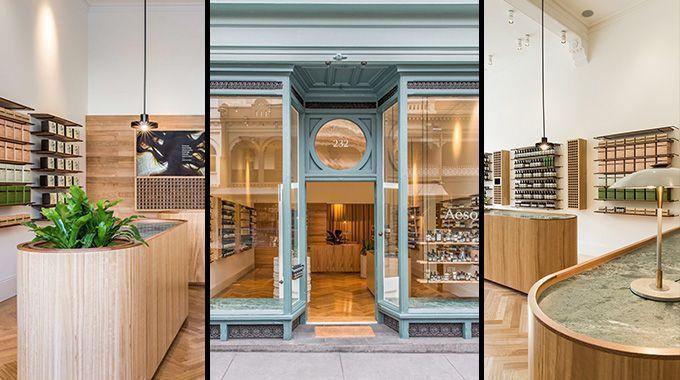 Diseño y decoración de la tienda Aesop - Interia.es