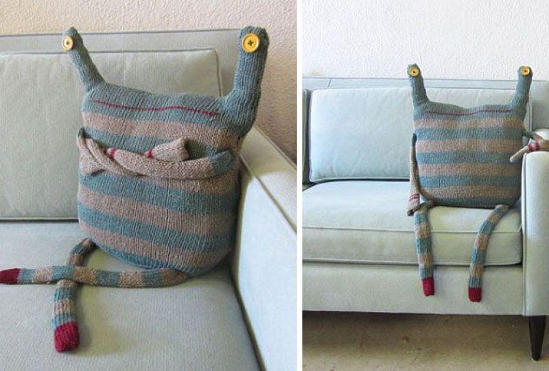 Cojines divertidos y originales para una decoración salerosa