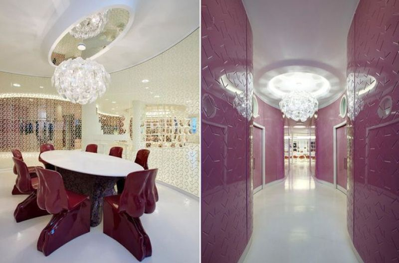 Diseño de interiores de Fabio Novembre