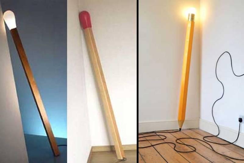 Decoración y humor: lámparas curiosas