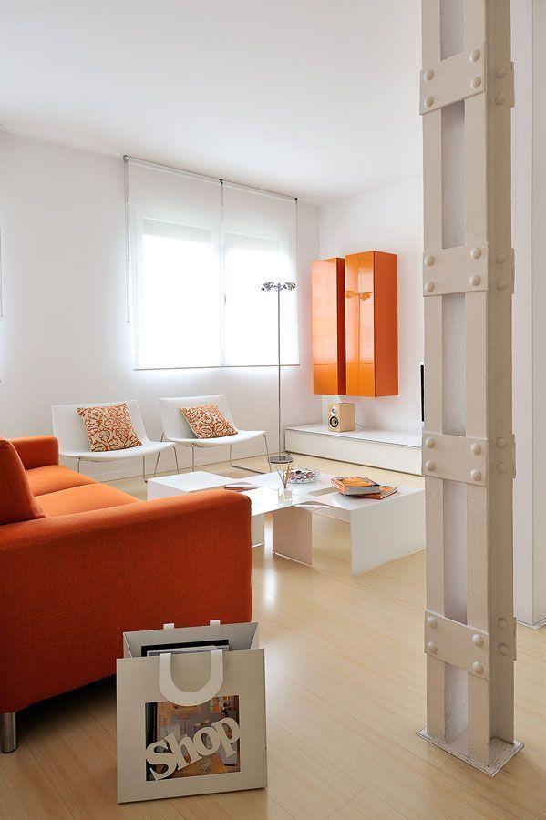 Proyecto de reforma y decoraci n de un piso de dise o en for Decoracion piso pareja joven