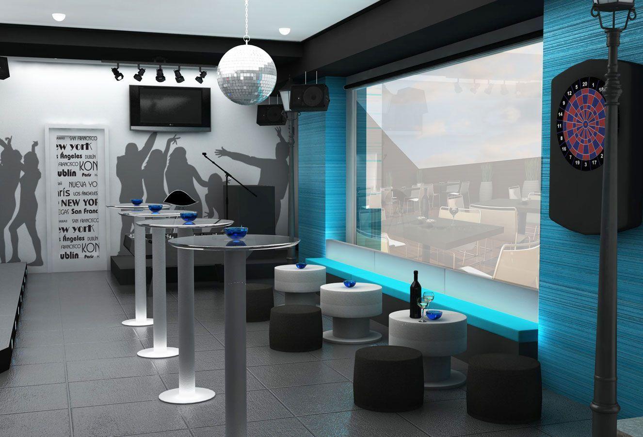 Proyecto de dise o de bar de copas en madrid - Decoracion bares modernos ...