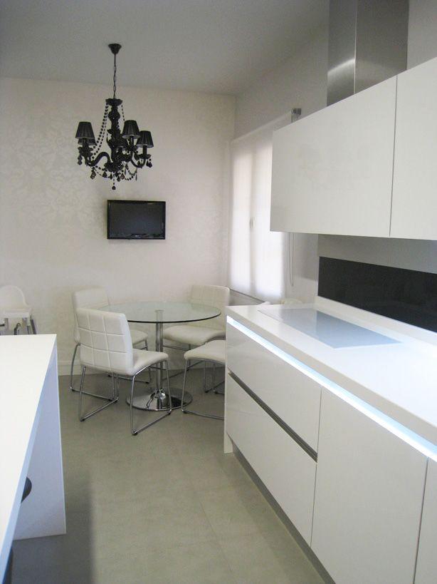Proyecto de interiorismo y decoraci n de un piso en goya for Pisos parque goya 2