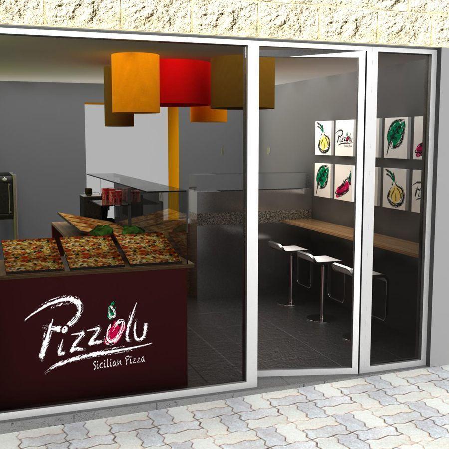 Franquicia de pizzer as al corte for Decoracion pizzeria