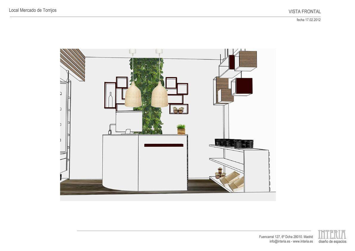 Proyecto De Interiorismo Para Una Tienda Gourmet En Madrid  # Muebles Para Tienda Gourmet