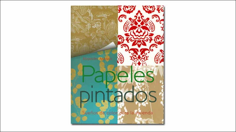 Libro de papeles pintados para interior