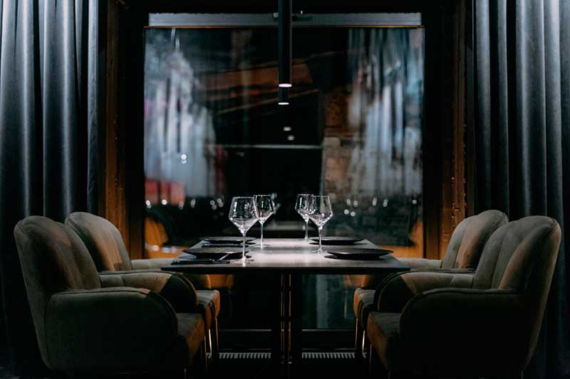 Decoración de restaurantes modernos