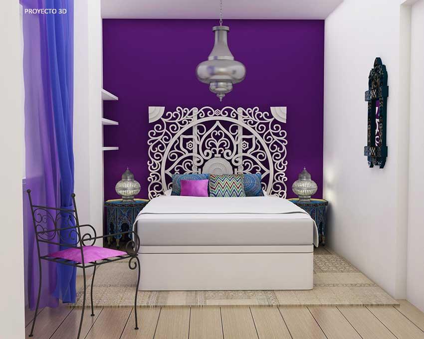 Estilo rabe zen y minimal para un piso de dise o - Decoracion estilo arabe ...