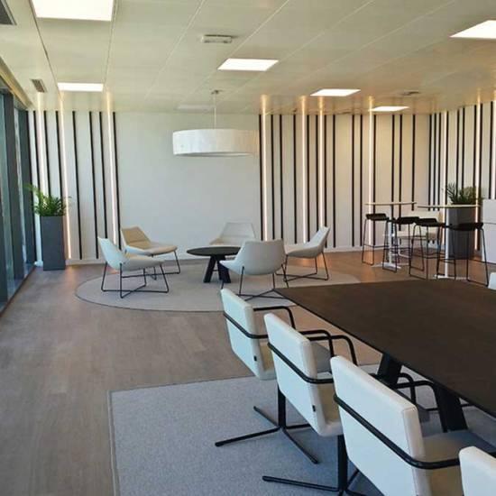 Diseño de oficinas Axiare