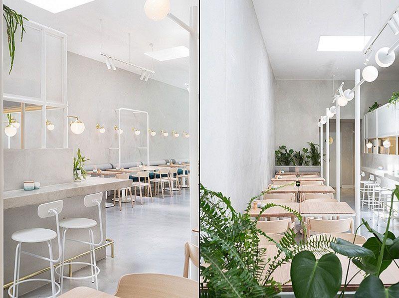 Cafeteraías con interiorismo veraniego