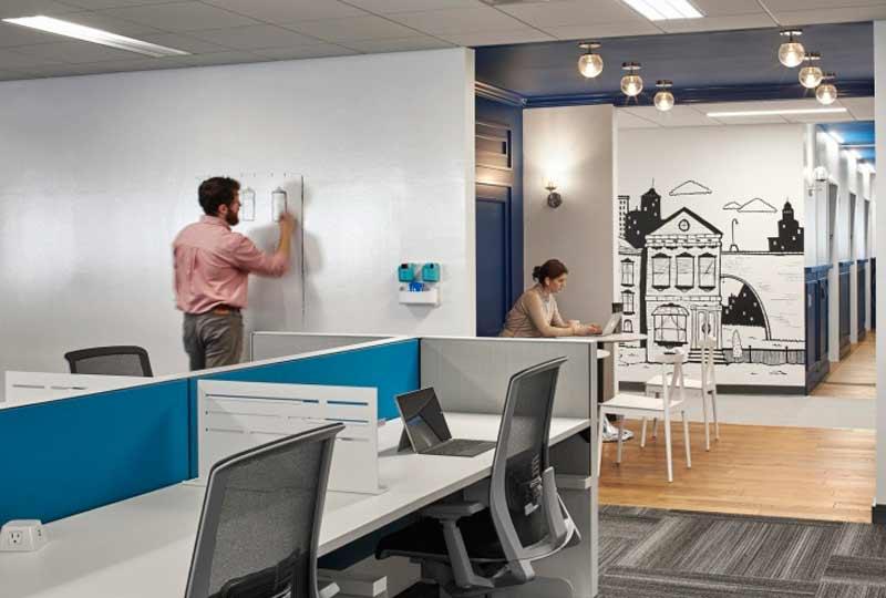 Oficinas Placester en Boston, Massachusetts