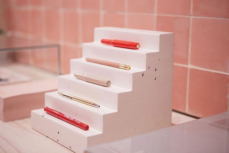 Decoración de papelerías modernas