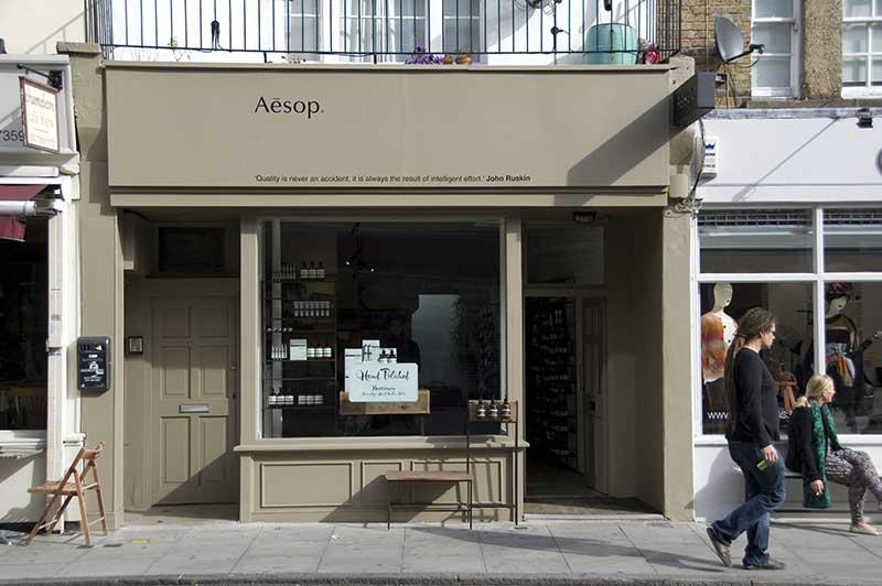 Aesop Islington, Londres
